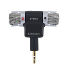 High Quality Portable Mini Mic Digital Stereo Microphone for Recorder PC laptop camera MD