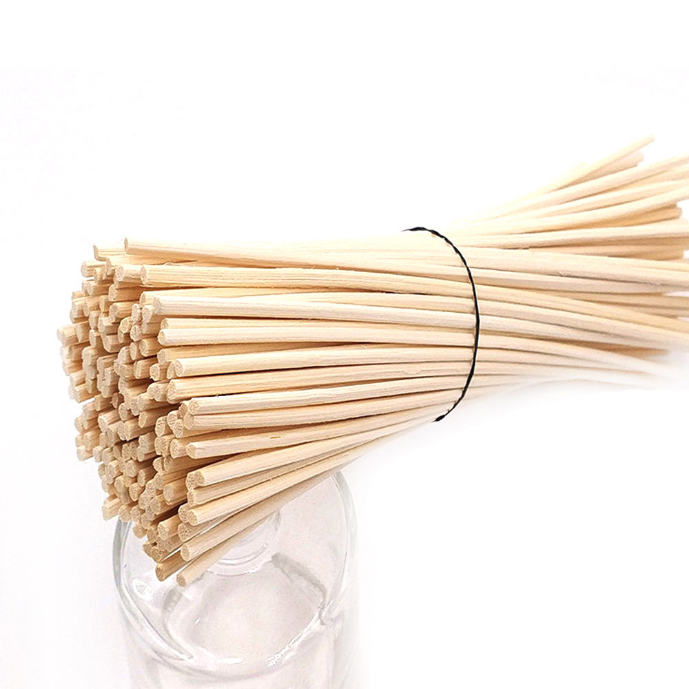 100pcs Premium Rattan Reed Diffuser Replacement Refill Rattan Sticks Aromatic Sticks For Fragrance Top Quality 24cm X 3mm