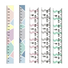 Simple Nordic Style Children 's Height Ruler Wall Hanging Type Height Measurement Home Decoration Wall Art Ornaments Home Decor