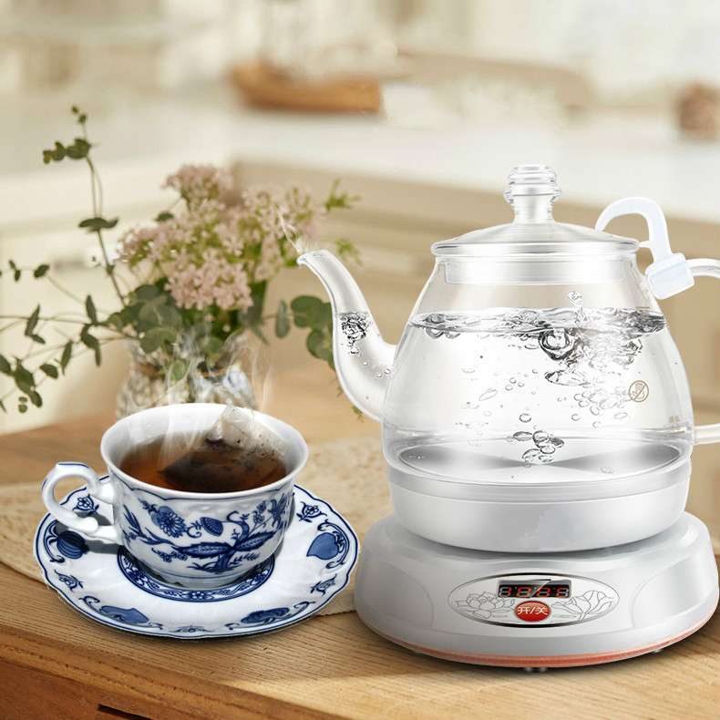 Electric kettle electric has multi-function automatic power cut glass Overheat Protection цена 2017