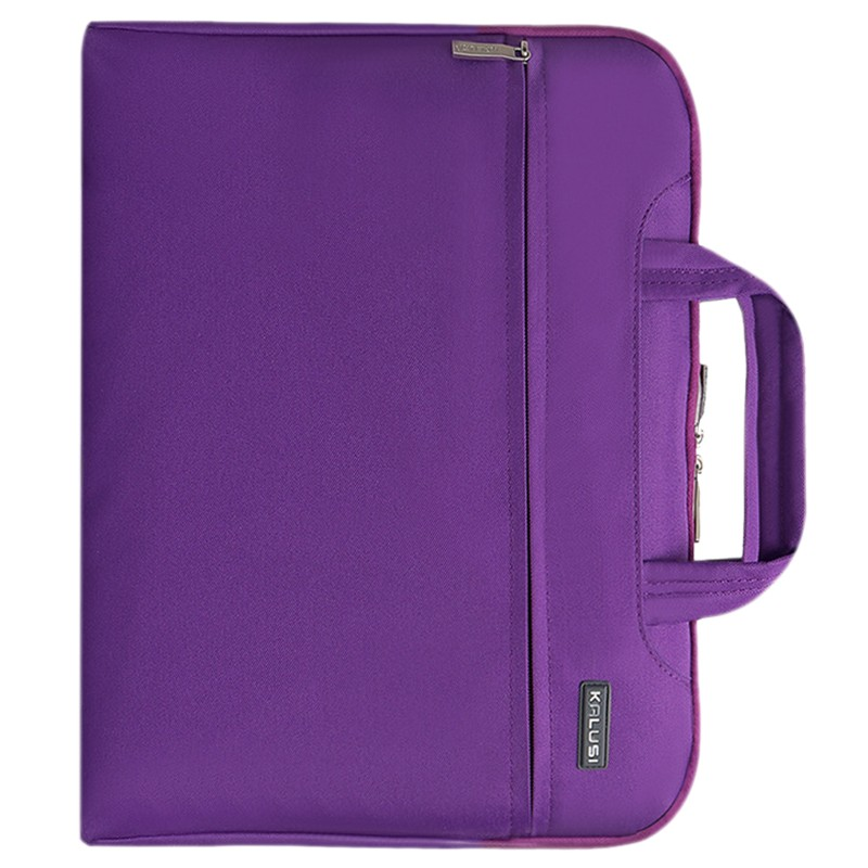 New waterproof arrival laptop bag case computer bag notebook cover bag 11 inch for Apple Lenovo Dell Computer bag(Purple)