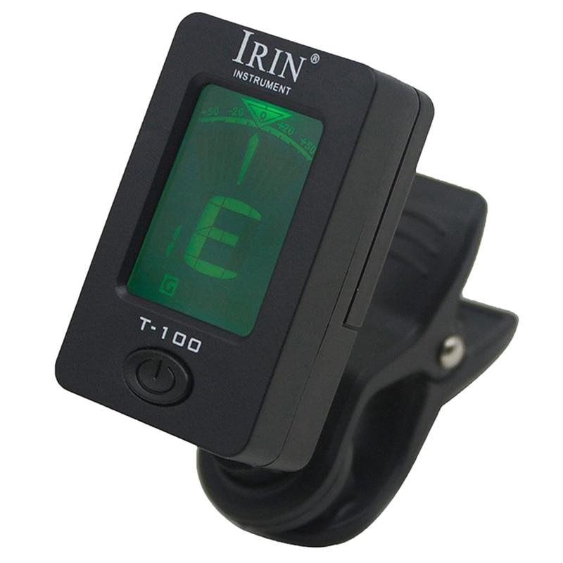 HOT 5X IRIN 360 Degree Rotate Digital Chromatic Bass Ukelele Electronic Guitar Tuners