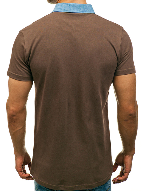 Plus Size   Summer Polo Shirt Men 2018  Contrast Color Casual    Short Sleeve Polo Shirt Men  Turn-down Collar   Polo Homme