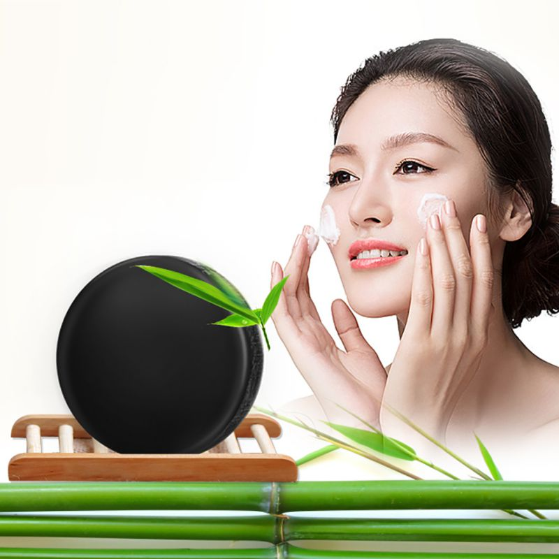 Handy Facial Soap Bamboo Charcoal Net To Blackhead Acne Cleansing Essential Oil Removedor De Cravo Acne Treatment BTG