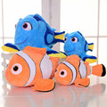 1pcs Finding Nemo 20cm Movie Cute Clown Fish Stuffed Animal Soft Plush Toy Plush Doll Baby Toy