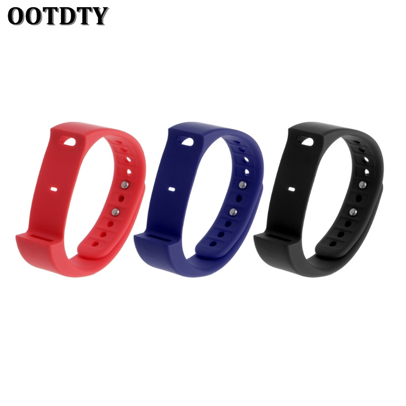 OOTDTY Smart Watch Strap Replacement TPU Band Strap Wristband For Iwown i5 plus Sports Smart Bracelet logitech h150 cloud white 981 000350