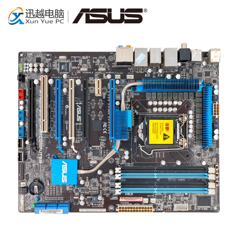 Asus P7P55 WS Supercomputer Desktop Motherboard P55 LGA 1156 i3 i5 i7 DDR3 16G SATA2 USB2.0 ATX все цены