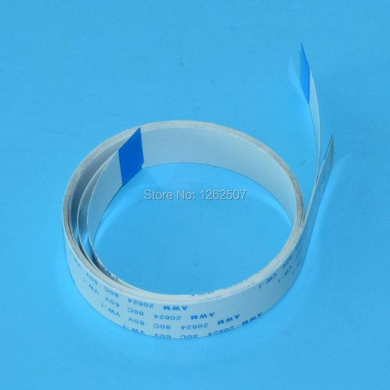 Piezoelectric Nozzle Printhead Cable Lines For Epson Printers TX800 XP600 XP700 Print head 29pins * 40cm 2pcs per Lot