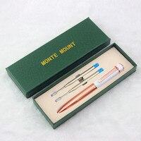 Роскошная шариковая ручка с алмазной металлической шариковой ручкой для школьные принадлежности Бесплатная доставка