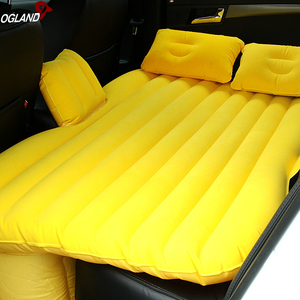 Image 5 - OGLAND Car Air Inflation Travel Bed for Universal Back Seat Mattress Multi functionl Sofa Pillow Outdoor Camping Mat Cushion