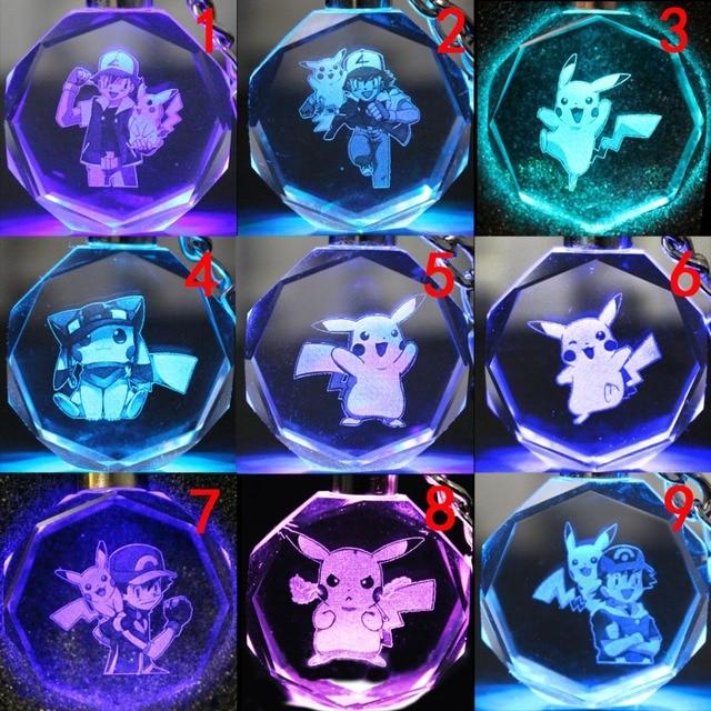 аниме Брелок кристалл Покемоны в ассортименте 1