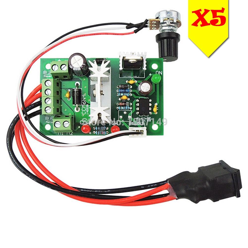Vbestlife Dc Motor Speed Controller Pwm 1200w 25khz Circuit Regulator