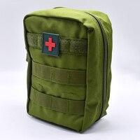 Новый мини сумка для путешествий аптечка для выживания Портативный выживания тактический аварийный мешок для первой помощи военный компле...