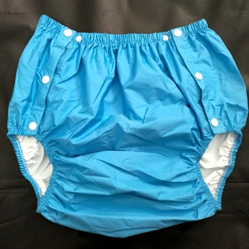 Free Shipping FUUBUU2204-BLUE-M Part Safety Trousers/ Physiological Pants/Adult Diaper/incontinence Pants /Pocket Diapers