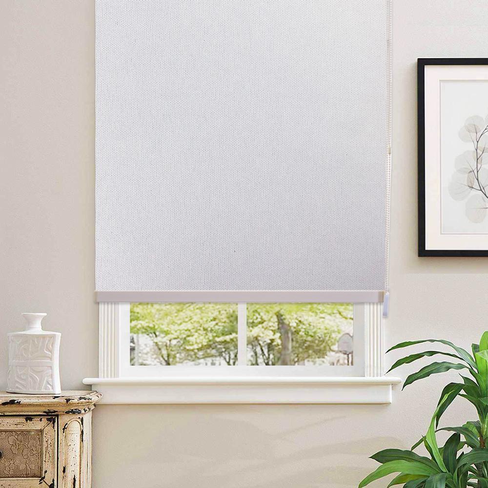 Calidad superior hecha a medida Blackout Vertical Ventana Persianas Blanco