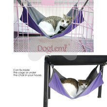 cat hammock under chair pride go review dropship popular waterproof oxford dog hanging bed in kennel winter summer dual use mattress beds mats from home garden