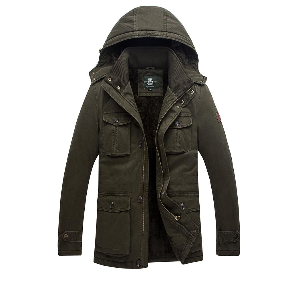 AFS ZDJP Jachetă de bumbac militară din bumbac Thickeni Mărime - Imbracaminte barbati