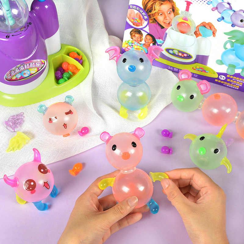 Ongebruikt Oonies bubble ball DIY craft magic adhesive balloon beads table QR-11