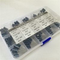 15values 215pcs 16V 25V 50V 0 1uF To 330uF Mix Electrolytic Capacitor Kit With A Free