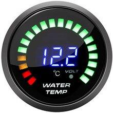 Auto Acqua Temp Gauge Con Sensore 52 millimetri 2 Pollici A CRISTALLI LIQUIDI Digital Temperatura dell'acqua calibro di automobile meter serbatoio di acqua indicatore di livello
