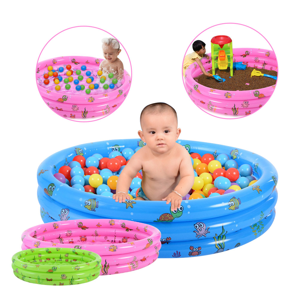 Children Inflatable Swimming Pool Outdoor Piscina Portable Water Play Crocks Inflatable  ...