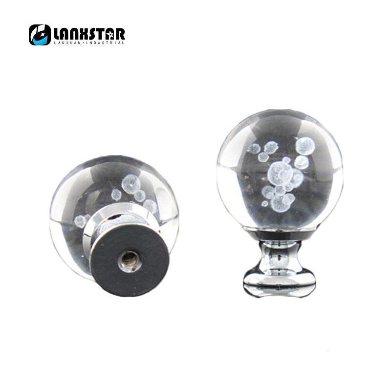 bouton de poignee boule a bulles 30mm boule a bulles de cristal bouton de poignee tiroir de meuble poignees de porte