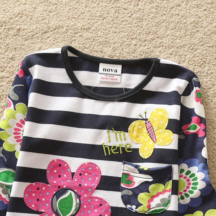 HTB1ywv7HpXXXXcyXpXXq6xXFXXXp - Girls Long Sleeve All Year T-Shirt, Long Sleeve, Cotton, Various Designs and Prints