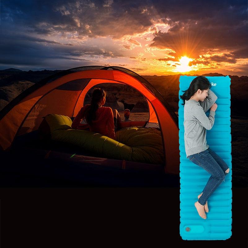 água dobrável cama ar ao ar livre almofada dormir