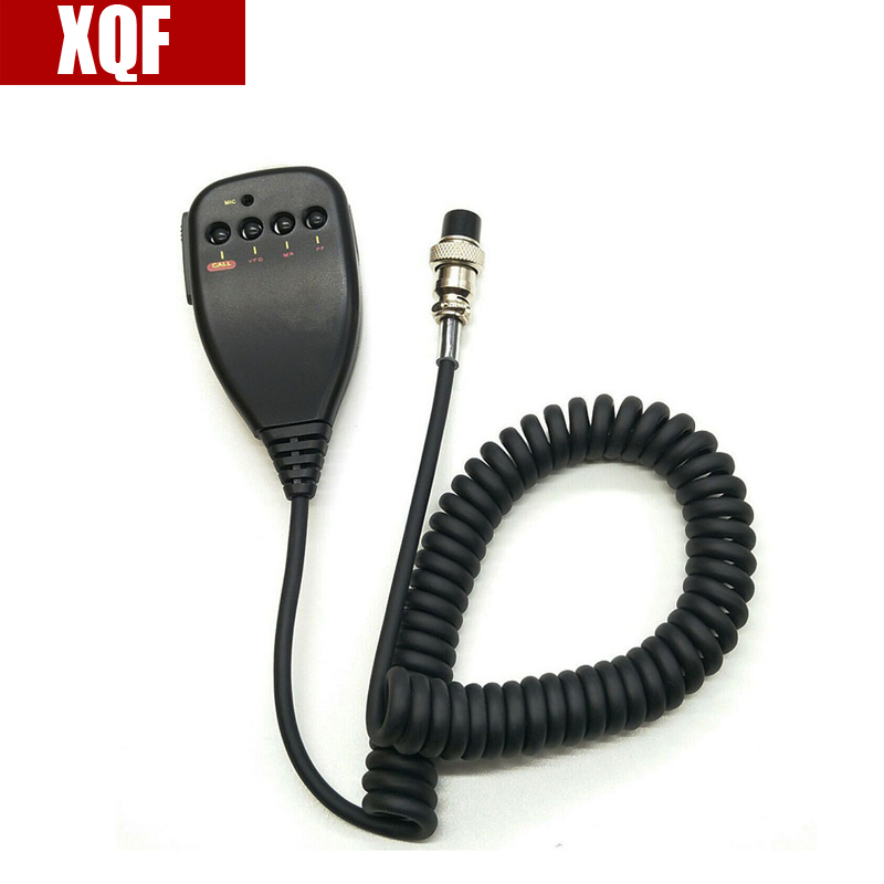 XQF New Arrival Radio Sets Speaker Mic Mc-44 Ptt For Kenwood Radio Tm-231 Tm-241 Hot Selling Black