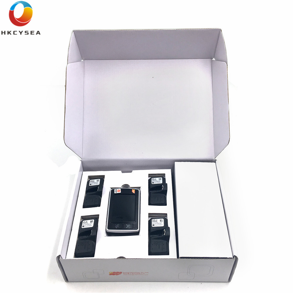 1PCS Orange 4 Wheel Vehicle Wireless Tire Pressure Monitoring System TPMS Sensor P409T for Vehicle Safty Problems