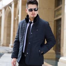 2016 Autumn Winter Long Thick Stand Collar parka men Plus Velvet P66 mens winter jackets and coats winter jacket men 2016