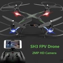 HR SH3 XPlorer V Drone 2MP Wifi FPV Camera 2.4G 4CH Headless Mode One Key Auto Returned Altitude Hold RC Quadcopter VS H31 X5SW