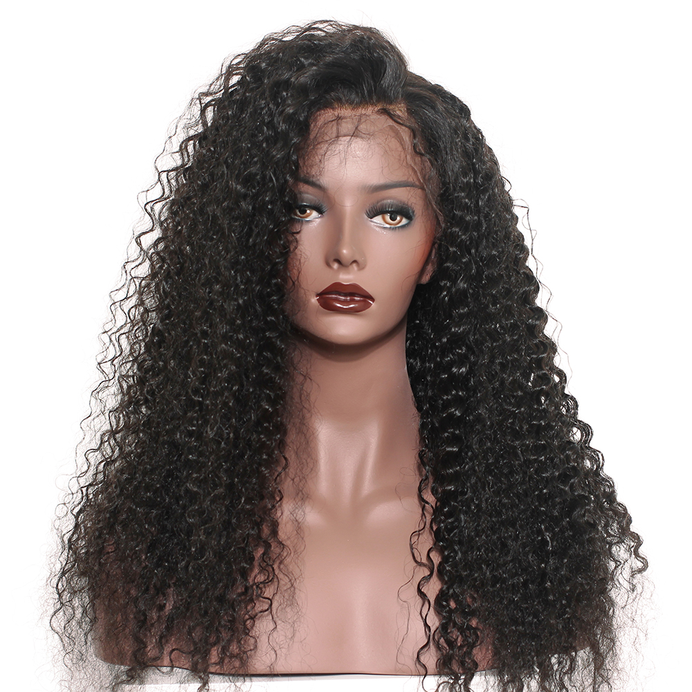13x6 Lace Front Wig 250% Full Density Lace Front Human Hair Wigs For Women Brazilian Deep Curly Human Hair Wigs Sunny Queen Remy