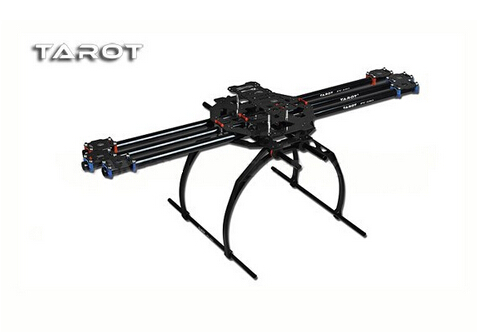F04299 Tarot FY680 TL6801 3K Carbon Fiber Tube Full Folding Hexacopter Frame Kit 680mm for DIY FPV Aircraft 6 axle RC Drone FS tator rc 3k carbon fiber plate 3 5mm tl2900