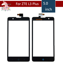 10pcs/lot 5.0 For ZTE Blade HN V993W L3 Plus LCD Touch Screen Digitizer Sensor Outer Glass Lens Panel Replacement цена
