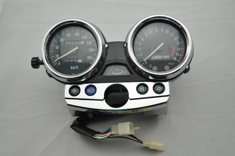 scooter parts/ Gauges Cluster Speedometer Tacho/Odometer Fits For Kawasaki ZRX400 ZRX750 ZRX1100 Kmh /free shipping scooter parts gauges cluster speedometer tacho odometer fits for kawasaki zrx400 zrx750 zrx1100 kmh free shipping