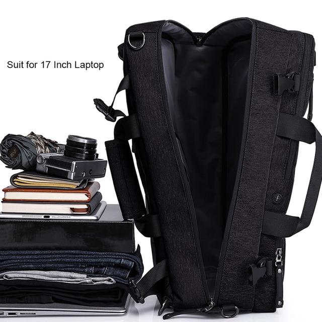 MAGIC UNION Multifunctional Backpack For Men 17.3 inch Laptop Bag Large Travel Bagpack 3 in1 Mochila Hombre Shoulder Bag 1