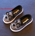 Spring new Korean Girls Single Shoes Boys Cartoon Cat Casual Shoes Children 's Baby Shoes Students Shoes