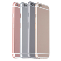 5PCS Lot Alibaba China New Replacement Mobile Phone Housings For IPhone 6 Back Rear Battery Cover