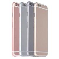 5 Adet/grup Alibaba Çin Yeni Yedek Cep Telefonu Konutlar iPhone 6 Arka arka Pil Kapağı Kapı Cep Telefonu Için Yedek parçaları