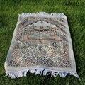 Складной карманный коврик для молитва  мусульманская молитва  мусульманский молитвенный коврик Salat Musallah  Tapis  ковер Tapete Banheiro  исламский моля...