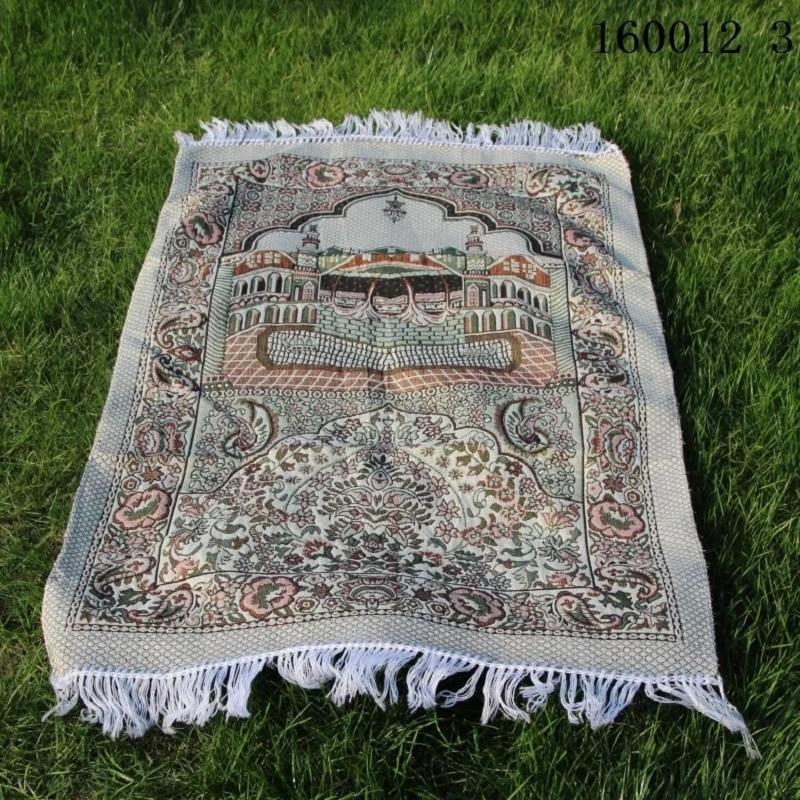 Foldable Pocket Islamic Muslim Prayer Mat Salat Musallah Prayer Rug Tapis Carpet Tapete Banheiro Islamic Praying Mat 70*110cm