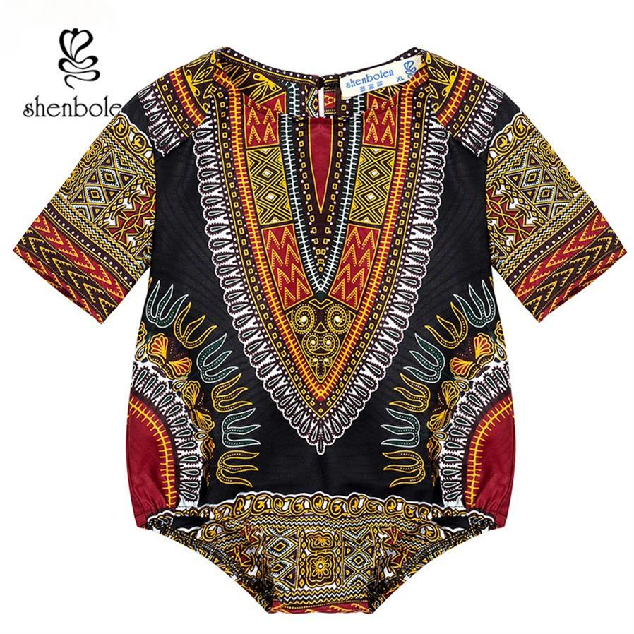 Dashiki African Kids Clothes African Jumpsuits For Kids Dashiki Print Traditional Dashiki Cotton Material Lovely Kids Clothes