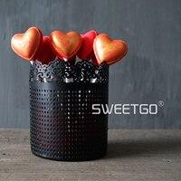 Lollipop cukiernica Makeup muśnięcie Przechowywania wiadro wedding cake narzędzia pieczenia deser dekoratorów Jadalnia & bar kuchnia acce