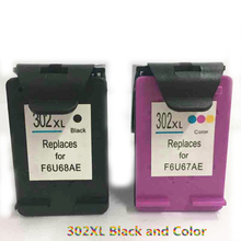 Vilaxh compatible For HP 302xl Ink Cartridge Replacement HP302 xl for hp 302 envy 4510 4511 4513 4516 4517 DESKJET 1110