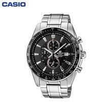 Наручные часы Casio EF-547D-1A1 мужские с кварцевым хронографом на браслете