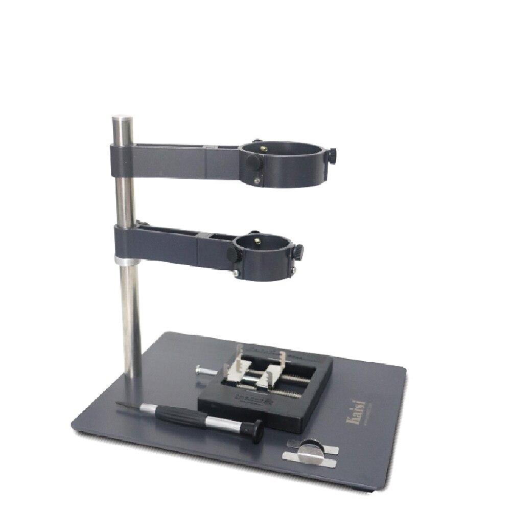 Kaisi pistolet à Air chaud support à pince pour téléphone ordinateur portable BGA Station de reprise pistolet à Air chaud Stents plate-forme de réparation de soudage