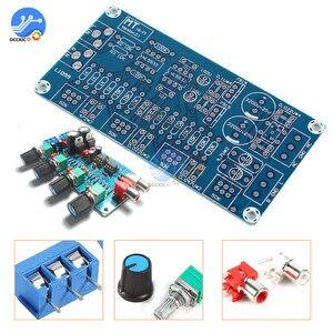 Image 2 - NE5532 Preamp amplifikatör kurulu DIY kitleri ses kontrol panosu tiz orta kademe bas DIY çift AC 15 V Modulo Amplificador
