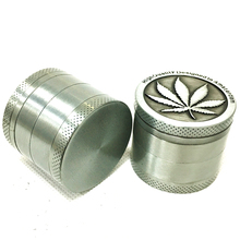 Herb 4 Layer Grinder 50mm Crusher  Tobacco 40mm 4levels Zinc Alloy High Quality Smoke