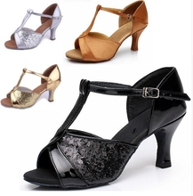 Discount ! Promotion New Arrival Popular High Quality Latin Dance Shoes For Women/Ladies/Girls/Salsa&Tango